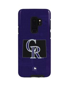 Colorado Rockies Home Turf Galaxy S9 Plus Pro Case