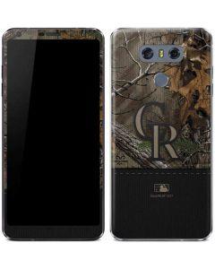 Colorado Rockies Realtree Xtra Camo LG G6 Skin
