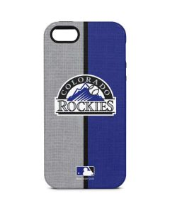 Colorado Rockies Split iPhone 5/5s/SE Pro Case