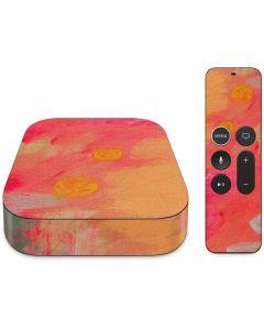 Colored Finger Paint Apple TV Skin