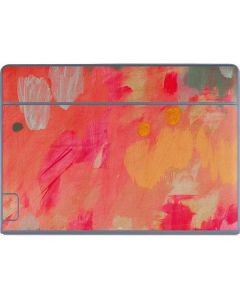 Colored Finger Paint Galaxy Book Keyboard Folio 12in Skin