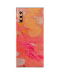 Colored Finger Paint Galaxy Note 10 Skin
