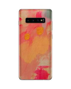 Colored Finger Paint Galaxy S10 Plus Skin