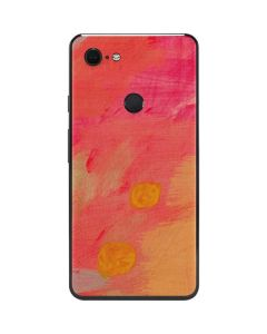 Colored Finger Paint Google Pixel 3 XL Skin
