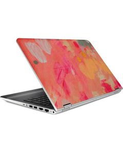 Colored Finger Paint HP Pavilion Skin