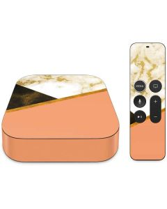 Colored Marble Apple TV Skin
