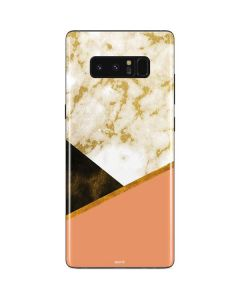 Colored Marble Galaxy Note 8 Skin