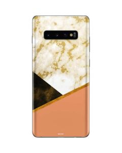 Colored Marble Galaxy S10 Plus Skin