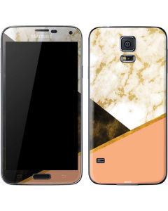 Colored Marble Galaxy S5 Skin