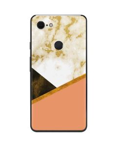 Colored Marble Google Pixel 3 XL Skin