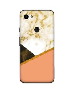 Colored Marble Google Pixel 3a Skin