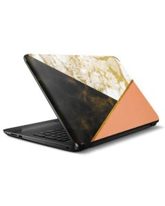 Colored Marble HP Notebook Skin