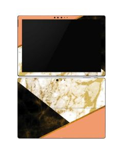 Colored Marble Surface Pro 6 Skin