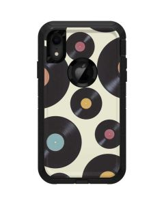 Colorful Records Otterbox Defender iPhone Skin