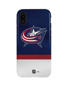 Columbus Blue Jackets Alternate Jersey iPhone XR Pro Case