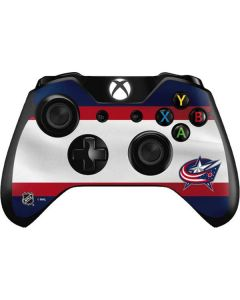 Columbus Blue Jackets Alternate Jersey Xbox One Controller Skin