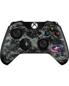 Columbus Blue Jackets Camo Xbox One Controller Skin