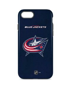 Columbus Blue Jackets Distressed iPhone 8 Pro Case
