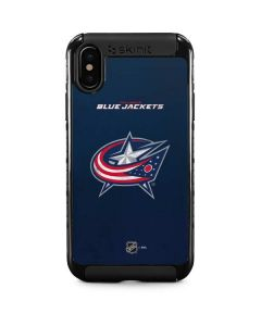 Columbus Blue Jackets Distressed iPhone XS Max Cargo Case