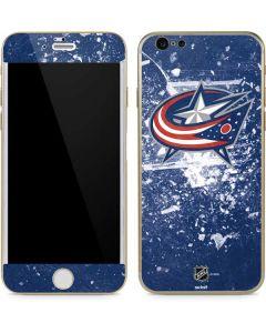 Columbus Blue Jackets Frozen iPhone 6/6s Skin