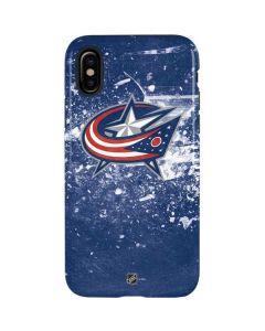 Columbus Blue Jackets Frozen iPhone X Pro Case