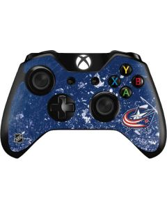Columbus Blue Jackets Frozen Xbox One Controller Skin