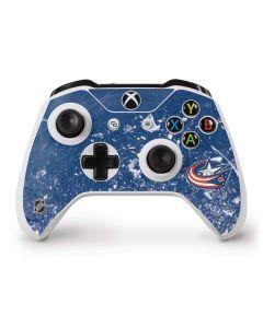 Columbus Blue Jackets Frozen Xbox One S Controller Skin