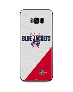 Columbus Blue Jackets Script Galaxy S8 Skin