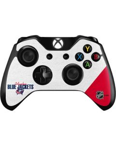 Columbus Blue Jackets Script Xbox One Controller Skin