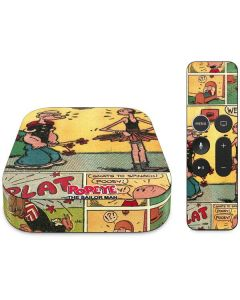 Comic Strip Popeye Apple TV Skin