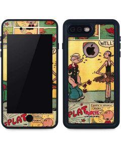 Comic Strip Popeye iPhone 8 Plus Waterproof Case