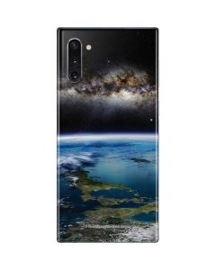 Concept of an Extraterrestrial Planet Galaxy Note 10 Skin