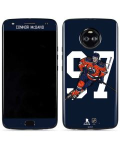 Connor McDavid #97 Action Sketch Moto X4 Skin