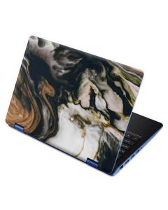 Copper and Black Marble Ink Aspire R11 11.6in Skin