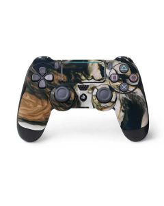 Copper and Black Marble Ink PS4 Pro/Slim Controller Skin