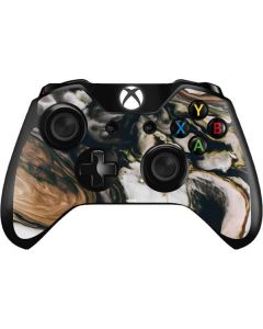 Copper and Black Marble Ink Xbox One Controller Skin