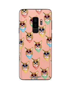 Corgi Love Galaxy S9 Plus Skin