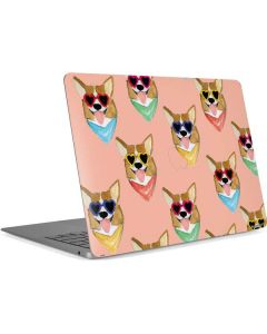 Corgi Love Apple MacBook Air Skin