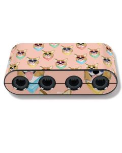Corgi Love Nintendo GameCube Controller Adapter Skin