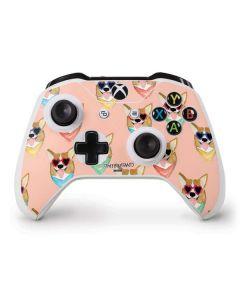 Corgi Love Xbox One S Controller Skin