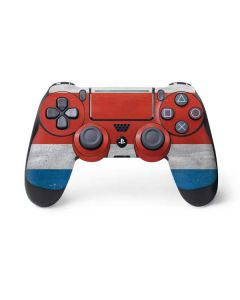 Costa Rican Flag Distressed PS4 Pro/Slim Controller Skin