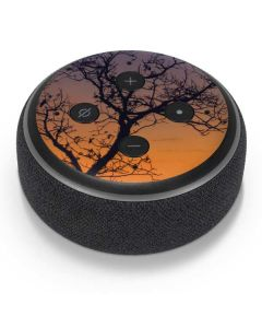 Crescent Moon At Sunset Amazon Echo Dot Skin