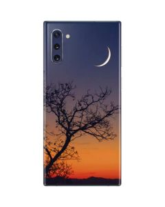 Crescent Moon At Sunset Galaxy Note 10 Skin