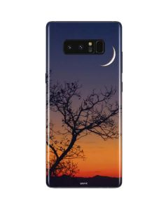 Crescent Moon At Sunset Galaxy Note 8 Skin