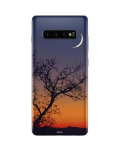 Crescent Moon At Sunset Galaxy S10 Plus Skin