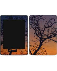 Crescent Moon At Sunset Amazon Kindle Skin