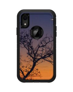 Crescent Moon At Sunset Otterbox Defender iPhone Skin