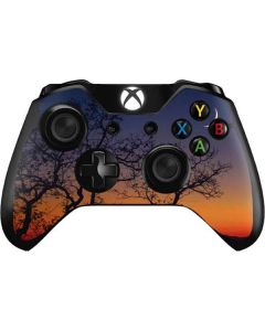 Crescent Moon At Sunset Xbox One Controller Skin