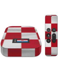 Croatia Soccer Flag Apple TV Skin