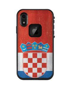 Croatia Flag Distressed LifeProof Fre iPhone Skin